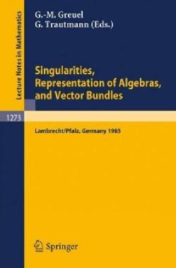 Singularities, Representation of Algebras, and Vector Bundles: Proceedings of a Symposium Held in Lambrecht/pfalz... (Paperback)