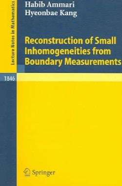 Reconstruction of Small Inhomogeneities from Boundary Measurements (Paperback)