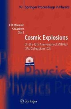 Cosmic Explosions (Hardcover)