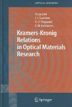 Kramers-Kronig Relations In Optical Materials Research (Hardcover)
