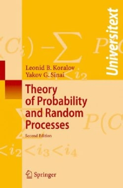 Theory of Probability and Random Processes (Paperback)