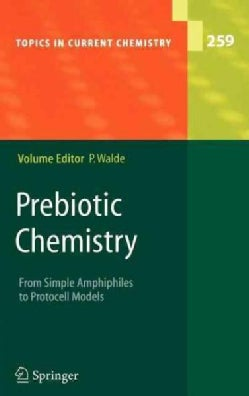Prebiotic Chemistry: From Simple Amphiphiles to Protocell Models (Hardcover)