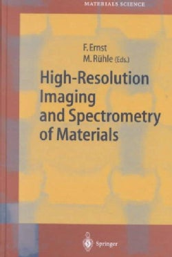 High-Resolution Imaging on Spectrometry of Materials (Hardcover)