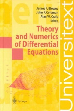 Theory and Numerics of Differential Equations: Durham 2000 (Hardcover)