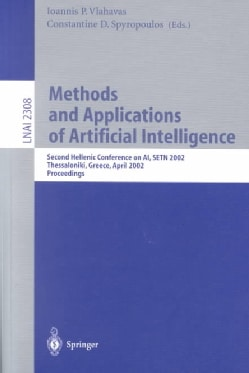 Methods and Applications of Artificial Intelligence: Second Hellenic Conference on Ai, Setn 2002, Thessaloniki, G... (Paperback)