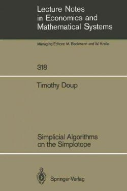 Simplicial Algorithms on the Simplotope (Paperback)