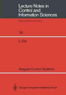 Singular Control Systems (Paperback)