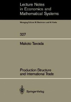Production Structure and International Trade (Paperback)