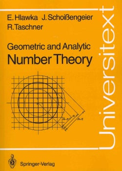 Geometric and Analytic Number Theory (Paperback)