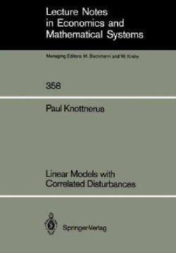Linear Models With Correlated Disturbances (Paperback)