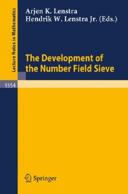 The Development of the Number Field Sieve (Paperback)
