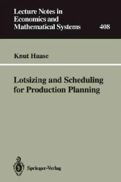 Lotsizing and Scheduling for Production Planning (Paperback)