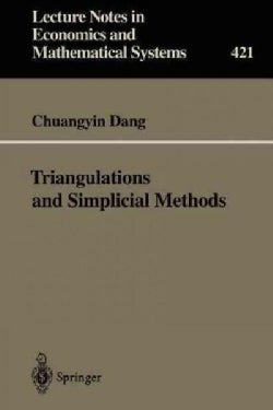 Triangulations and Simplicial Methods (Paperback)