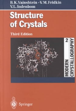 Structure of Crystals (Hardcover)