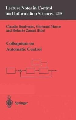 Colloquium on Automatic Control (Paperback)
