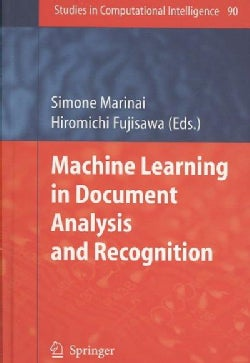 Machine Learning in Document Analysis and Recognition (Hardcover)