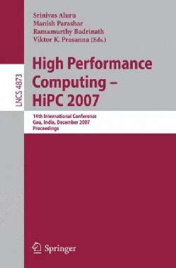 High Performance Computing: Hipc 2007 (Paperback)