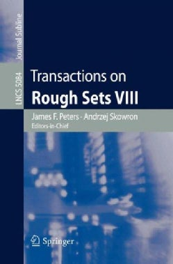 Transactions on Rough Sets VIII (Paperback)
