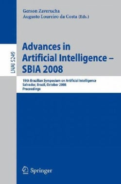 Advances in Artificial Intelligence-SBIA 2008: 19th Brazilian Symposium on Artificial Intelligence Salvador, Braz... (Paperback)