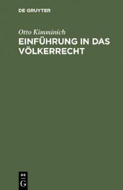 Einfuhrung in Das Volkerrecht (Hardcover)