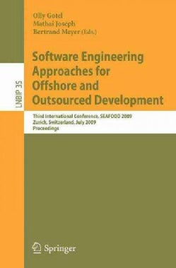 Software Engineering Approaches for Offshore and Outsourced Development: Third International Conference, Seafood ... (Paperback)