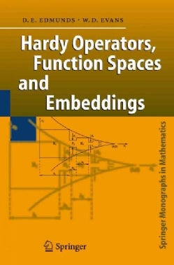 Hardy Operators, Function Spaces and Embeddings (Paperback)