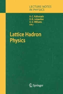Lattice Hadron Physics (Paperback)