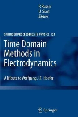 Time Domain Methods in Electrodynamics: A Tribute to Wolfgang J. R. Hoefer (Paperback)