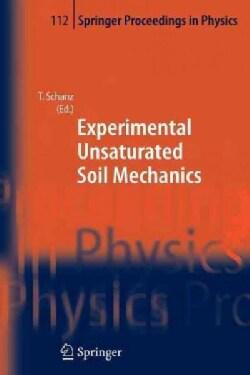 Experimental Unsaturated Soil Mechanics (Paperback)
