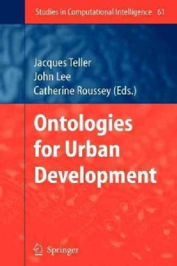 Ontologies for Urban Development (Paperback)