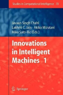 Innovations in Intelligent Machines - 1 (Paperback)