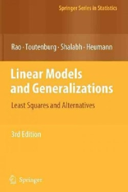 Linear Models and Generalizations: Least Squares and Alternatives (Paperback)