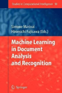 Machine Learning in Document Analysis and Recognition (Paperback)