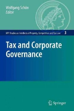 Tax and Corporate Governance (Paperback)
