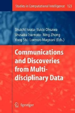 Communications and Discoveries from Multidisciplinary Data (Paperback)
