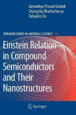 Einstein Relation in Compound Semiconductors and Their Nanostructures (Paperback)