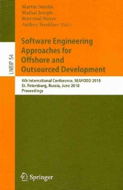 Software Engineering Approaches for Offshore and Outsourced Development (Paperback)
