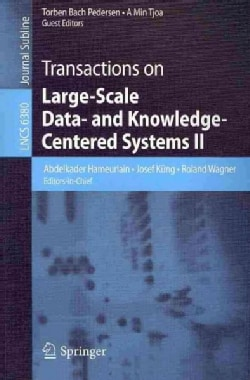 Transactions on Large-Scale Data - and Knowledge-Centered Systems II (Paperback)
