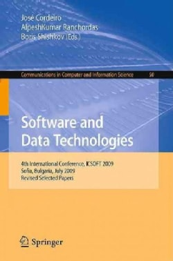 Software and Data Technologies: 4th International Conference, ICSOFT 2009 (Paperback)