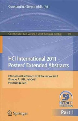 HCI International 2011 - Posters' Extended Abstracts: International Conference, HCI International 2011 Orlando, F... (Paperback)