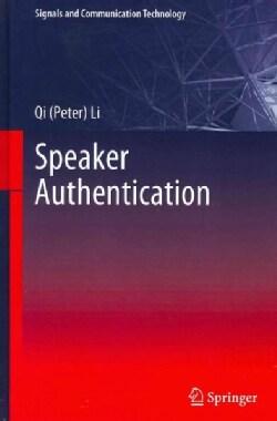 Speaker Authentication (Hardcover)