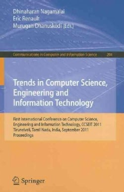 Trends in Computer Science, Engineering and Information Technology: First International Conference on Computer Sc... (Paperback)