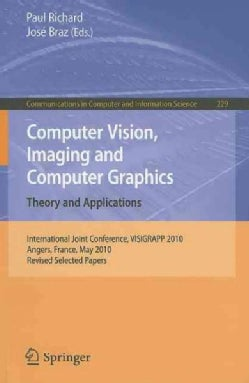 Computer Vision, Imaging and Computer Graphics: Theory and Applications: International Joint Conference, VISIGRAP... (Paperback)