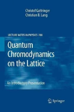 Quantum Chromodynamics on the Lattice: An Introductory Presentation (Paperback)