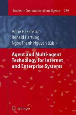 Agent and Multi-Agent Technology for Internet and Enterprise Systems (Paperback)