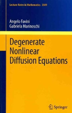 Degenerate Nonlinear Diffusion Equations (Paperback)