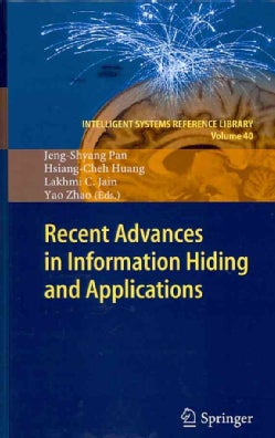 Recent Advances in Information Hiding and Applications (Hardcover)