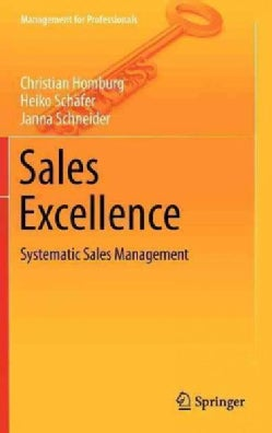Sales Excellence: Systematic Sales Management (Hardcover)