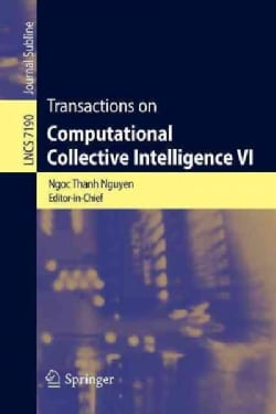 Transactions on Computational Collective Intelligence VI (Paperback)