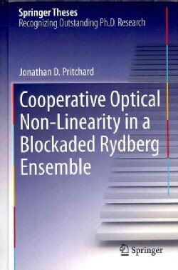 Cooperative Optical Non-Linearity in a Blockaded Rydberg Ensemble (Hardcover)